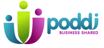 PODDI Business Networking Hampshire Logo